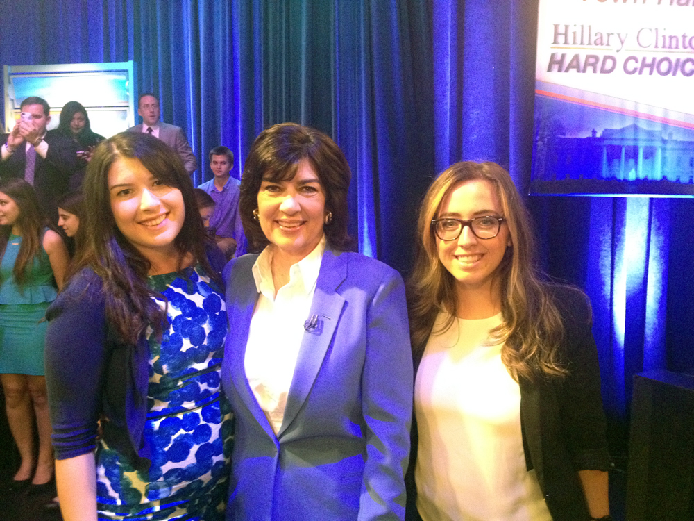 SRD at CNN Town Hall with Former Secretary of State Hillary Clinton